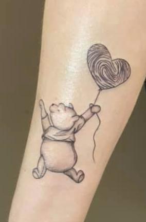 vingerafdruk tattoo
